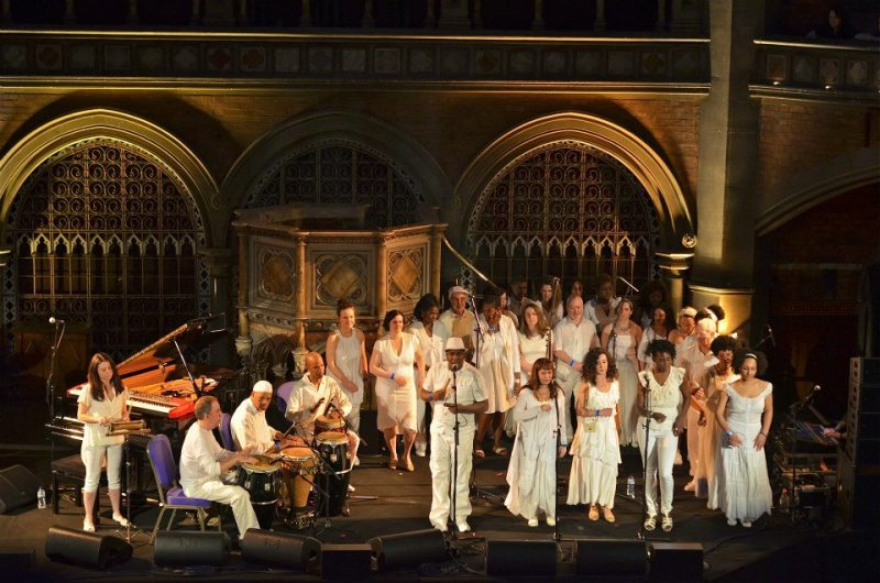 Choir by Deborah Jaffe Union Chapel 2013